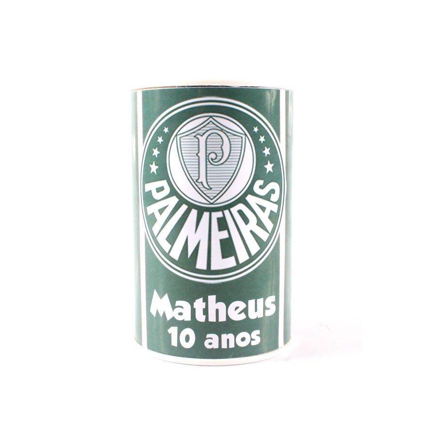 Kit 10 Cofrinho Personalizado Palmeiras