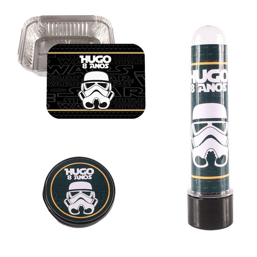 Kit 120 Itens Lembrancinhas Personalizadas Star Wars