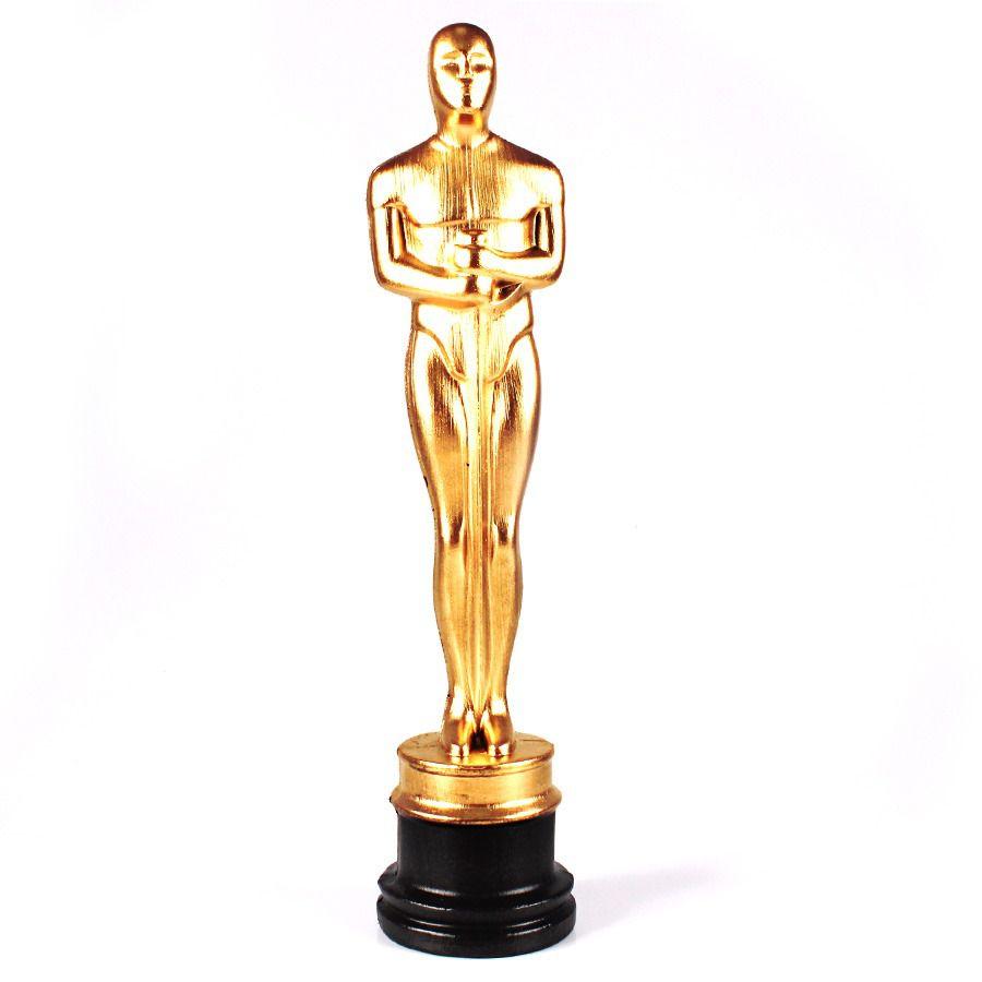 Kit 12 Troféu Estatueta Oscar