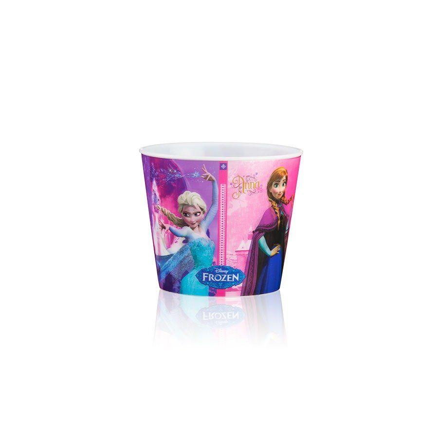 Kit 13 Balde Pipoca 3d Frozen 1l