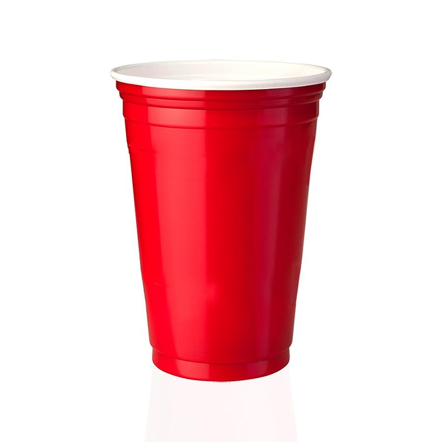 Kit 1500 Copos Red Cup Party Vermelho