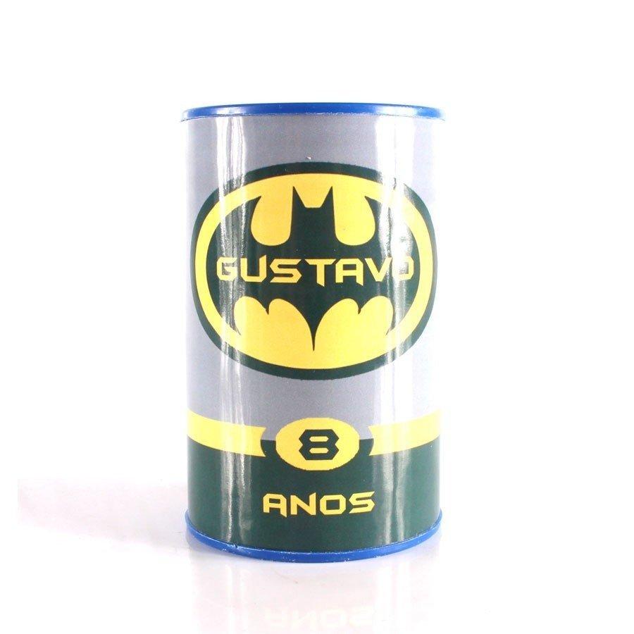Kit 40 Lembrancinha Cofrinho Personalizado Batman