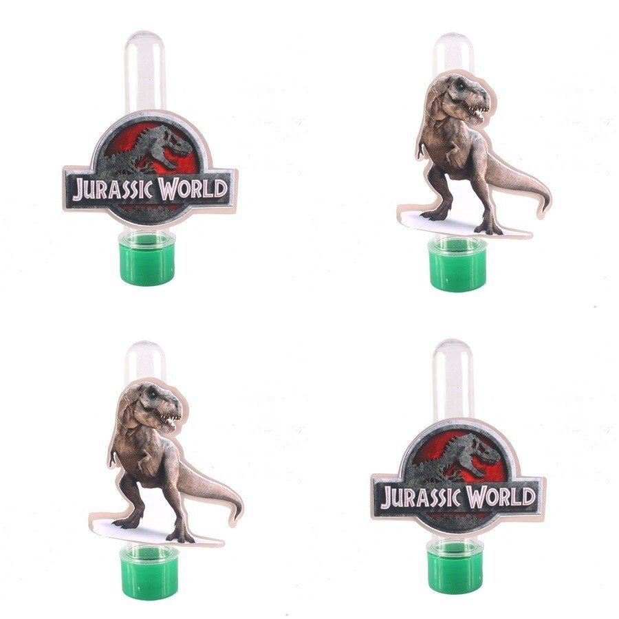 Kit 50 Lembrancinha Tubete 3d Personalizado Dinossauros