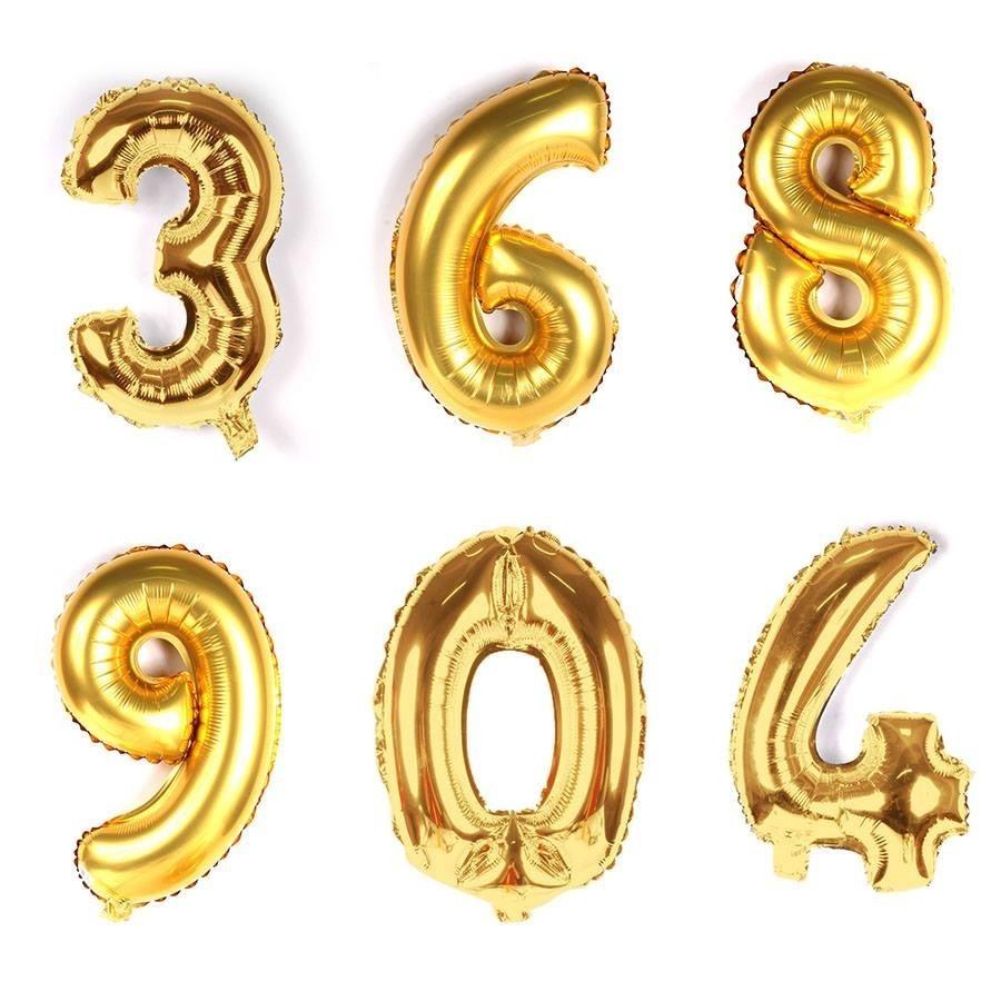 0e382cd4ca4ed Kit 5 Balão Letra Numero Mercado Livre - Aluá Festas