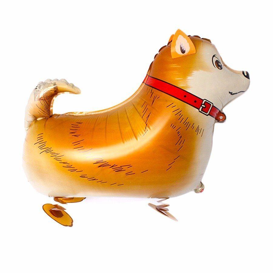 Kit Balão Metalizado Cachorro Com Patas E Orelhas - 10 Un