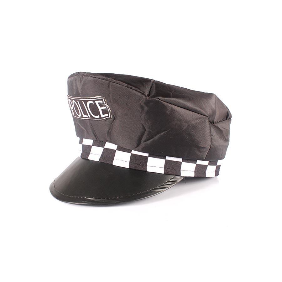 Kit Com 15 Quepes Policial Boina Farda Fantasias Festas - Aluá Festas 6b34aac163a