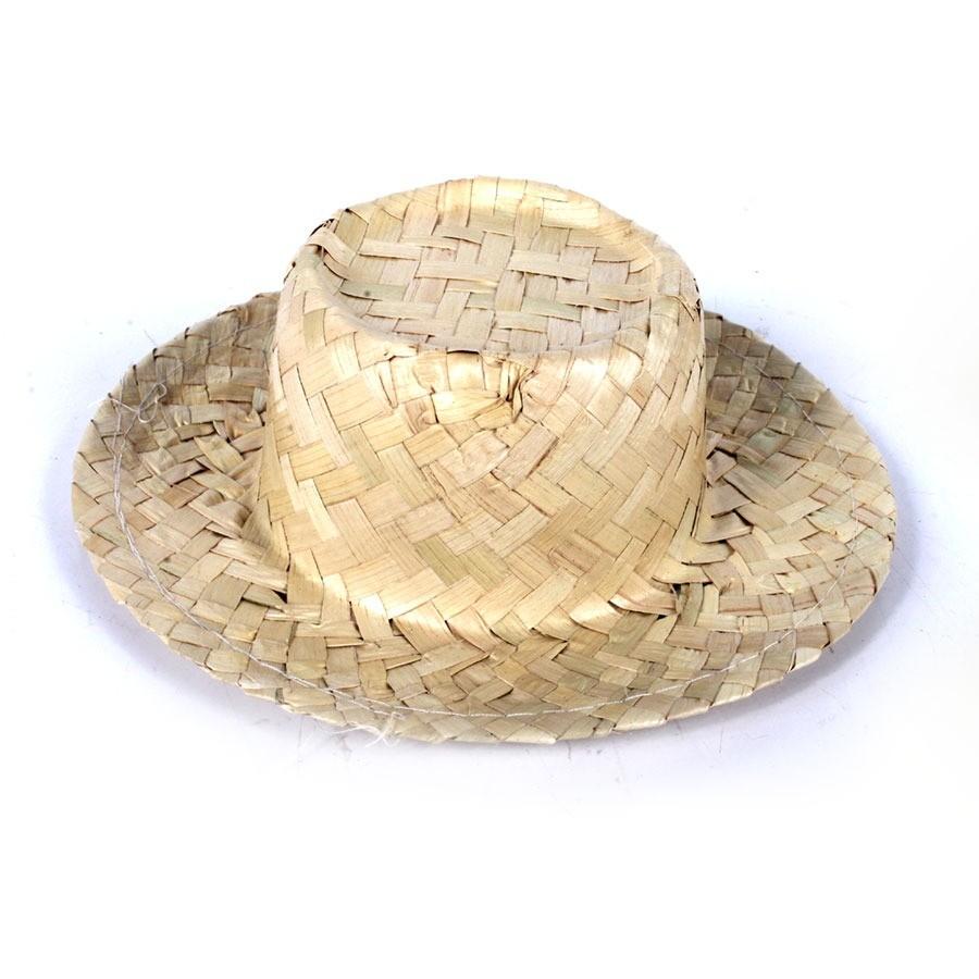 80581dd8995d9 Kit Com 20 Chapéu De Palha Cachepot - Aluá Festas