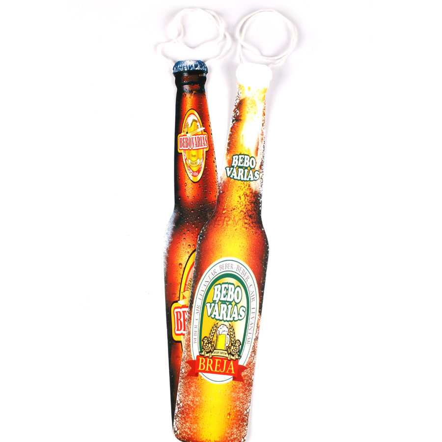 Kit Com 30 Gravatas Cartonadas Garrafa De Cerveja