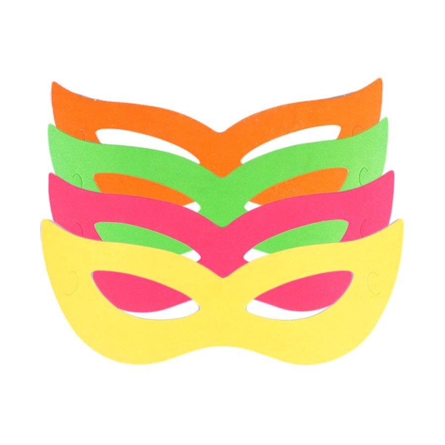 Kit Com 50 Máscaras Holográficas Gatinha