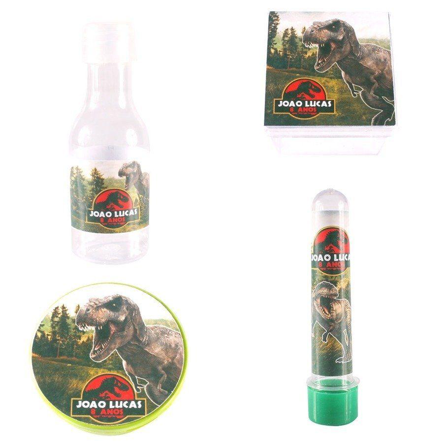 Kit Com 60 Lembrancinhas Personalizadas Dinossauros