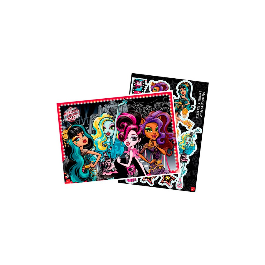 Kit Decorativo Monster High