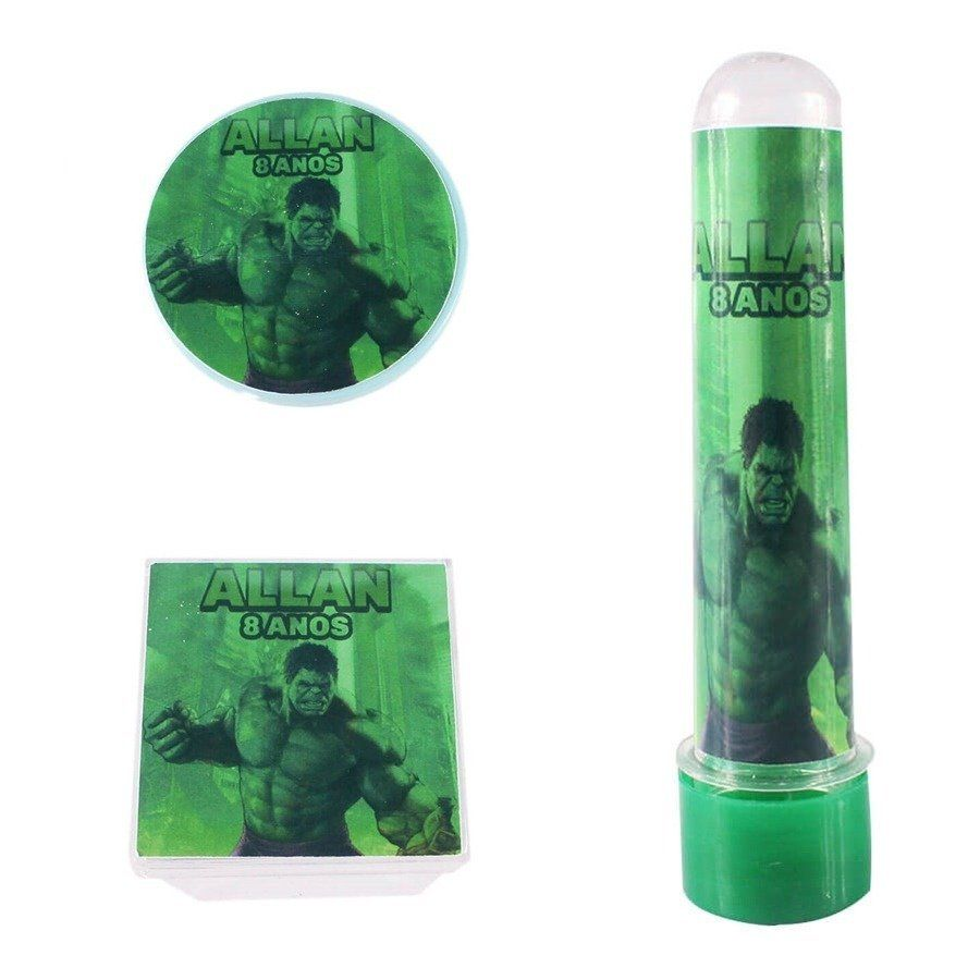 Kit Festa Lembrancinhas Personalizadas 150 Itens Hulk