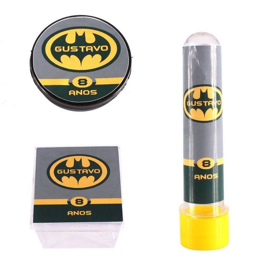 Kit Festa Lembrancinhas Personalizadas 30 Itens Batman