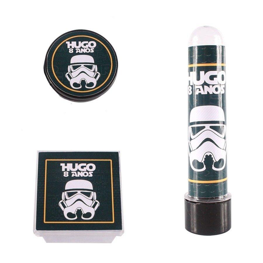 Kit Festa Lembrancinhas Personalizadas 30 Itens Star Wars