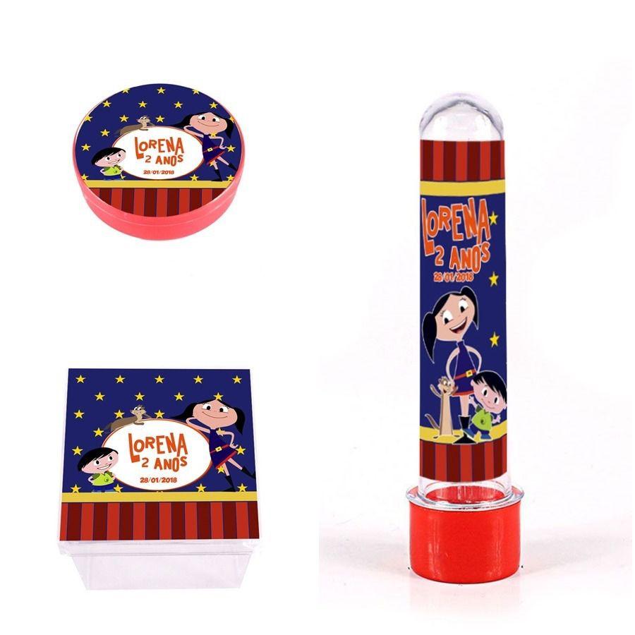 Kit Lembrancinhas Personalizadas 120 Itens Show Da Luna