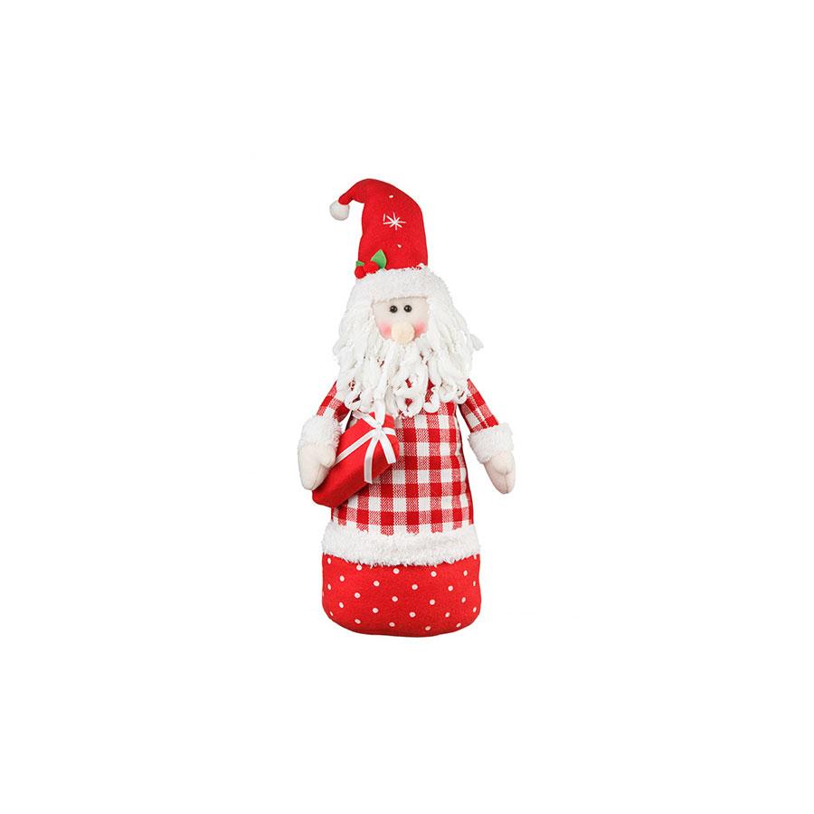 Kit Papai Noel E Boneco De Neve Com Pesos Candy 39Cm - Aluá Festas 37daae6944
