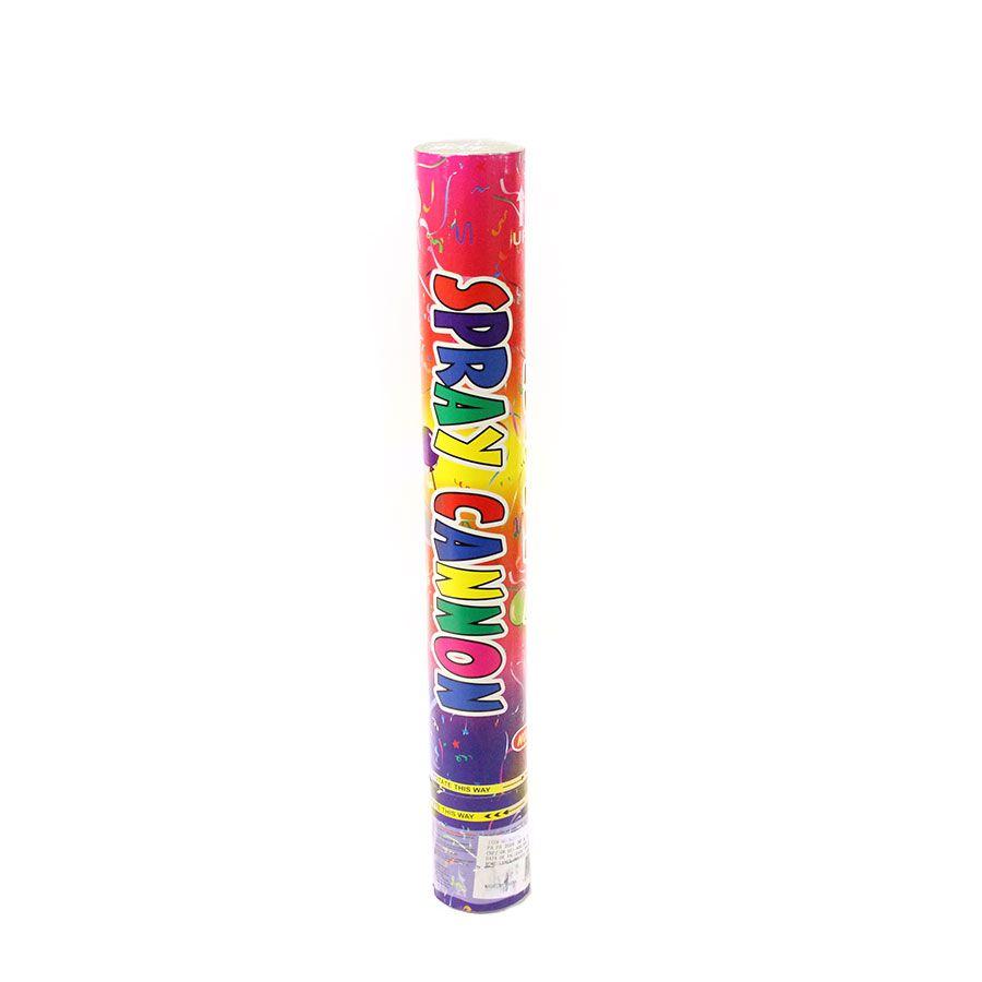 Lança Confete Colorido Metalizado 40cm