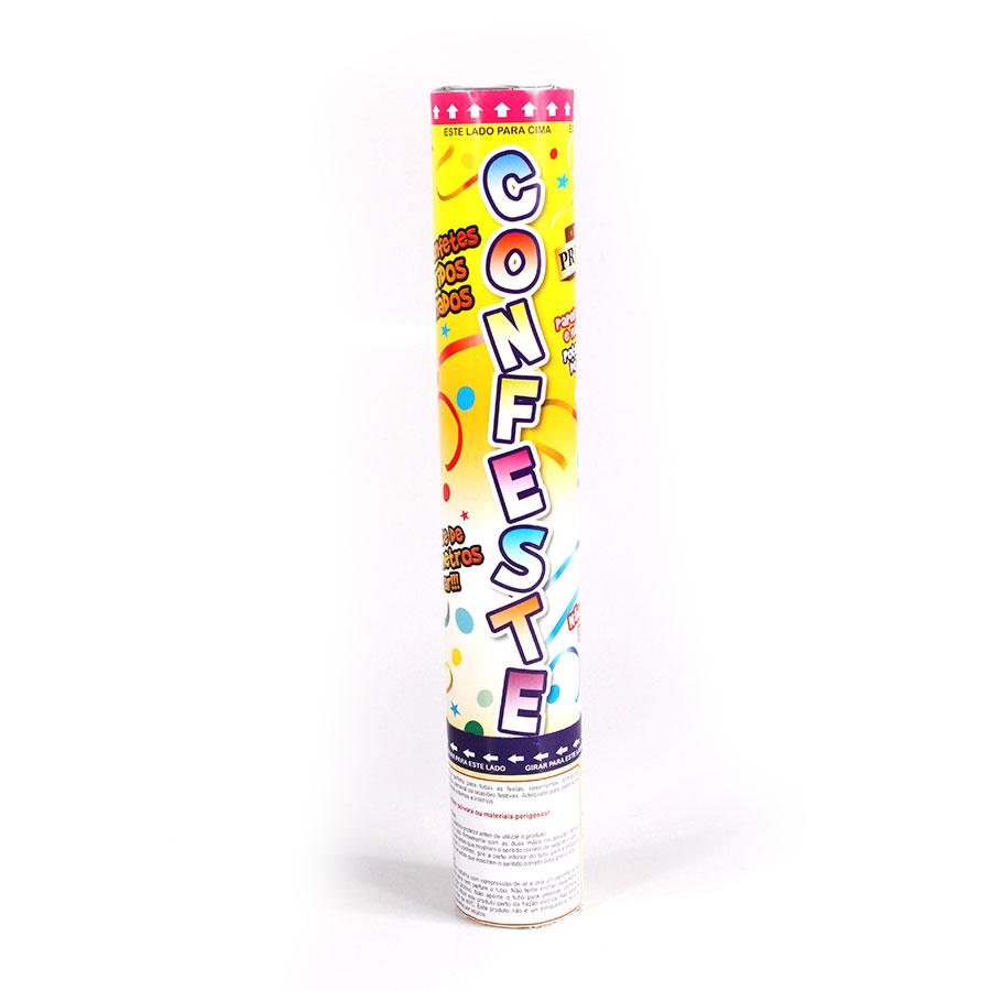Lança Confete Confeste Laminado Colorido