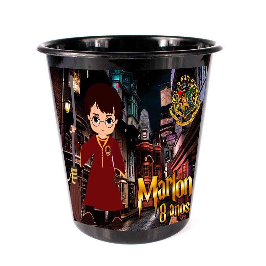 Balde de Pipoca Harry Potter Personalizado