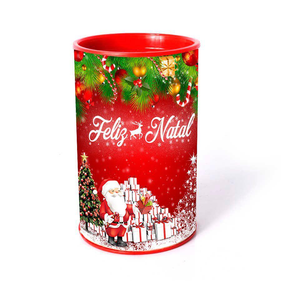 Lembrancinha Cofrinho de Papelão Natal 2018 - Aluá Festas 37d4c1c485