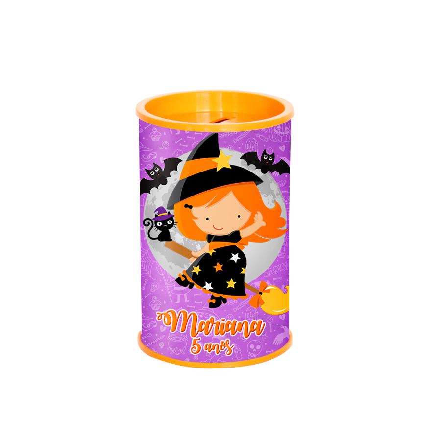 Lembrancinha Cofrinho Personalizado Halloween