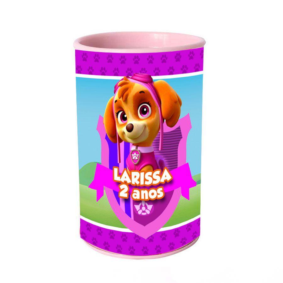 Lembrancinha Cofrinho Personalizado Skye Patrulha Canina