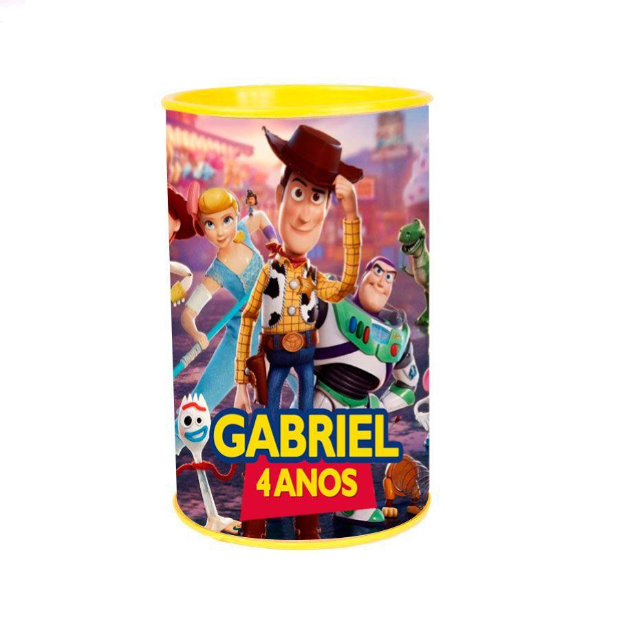 Lembrancinha Cofrinho Personalizado Toy Story 4