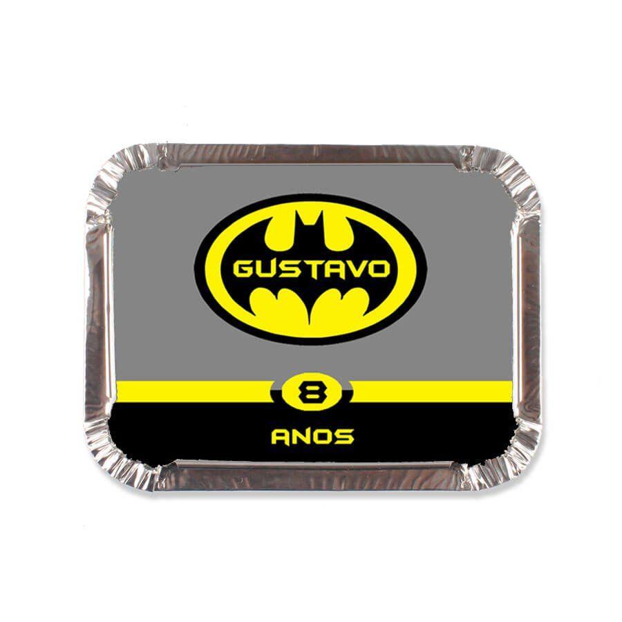 Lembrancinha Marmitinha Personalizada Batman - Aluá Festas 5ff915d6e5bbc
