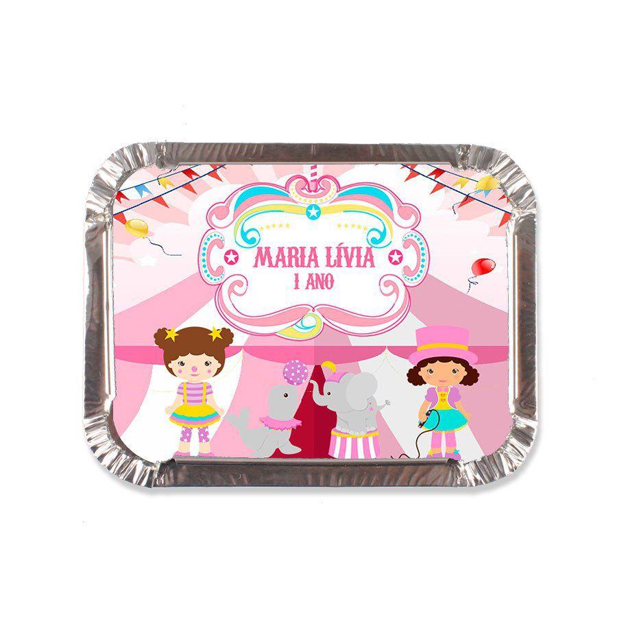 Lembrancinha Marmitinha Personalizada Circo Rosa - Aluá Festas 4fa658b969433