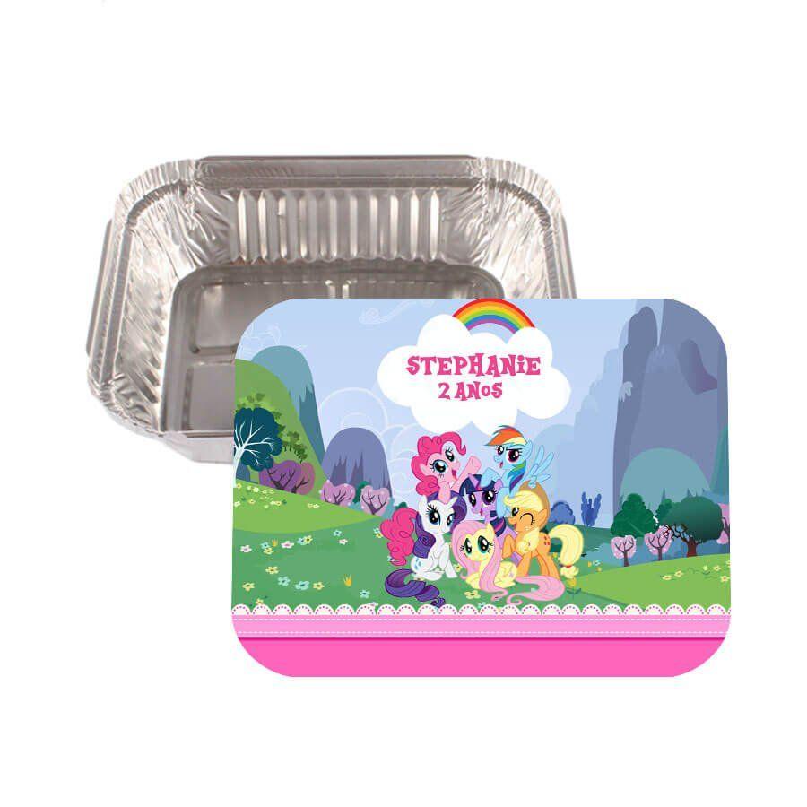 Lembrancinha Marmitinha Personalizada My Little Pony