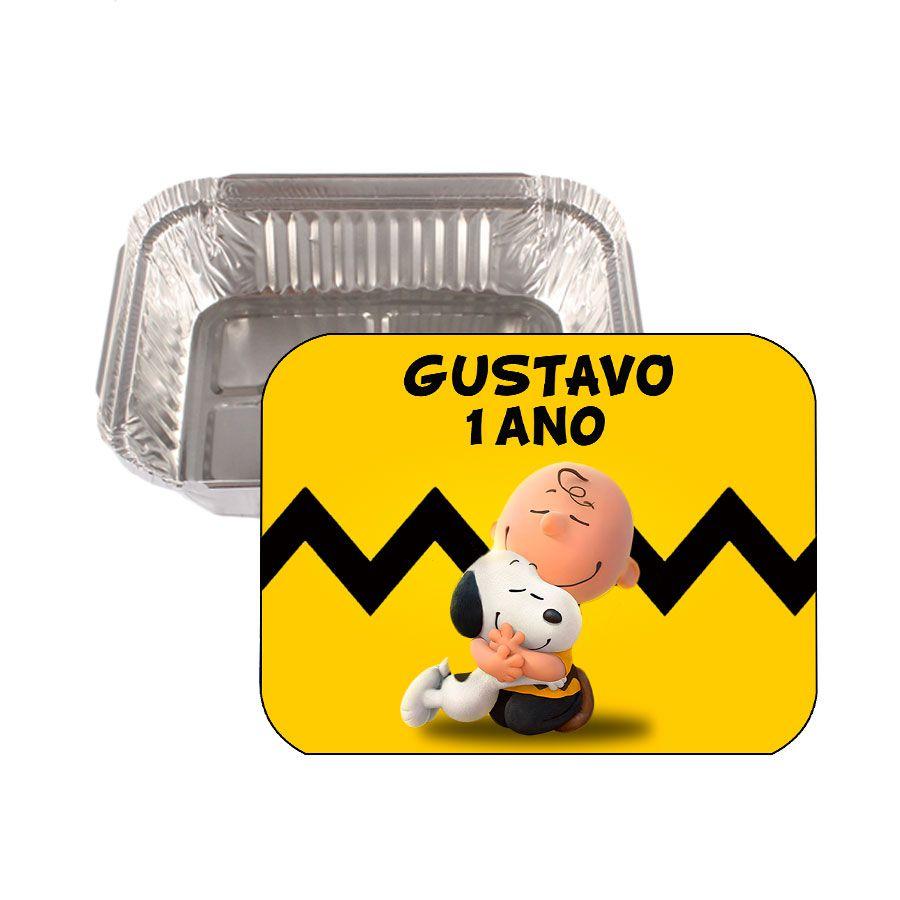 Lembrancinha Marmitinha Personalizada Snoopy