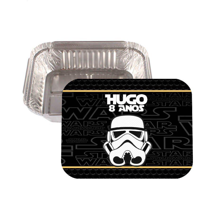 Lembrancinha Marmitinha Personalizada Star Wars - Aluá Festas bdcc18610e9ef