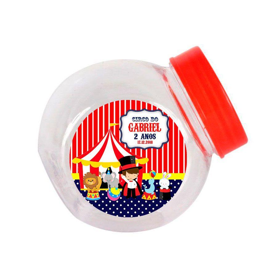 Lembrancinha Mini Baleiro Personalizado Circo