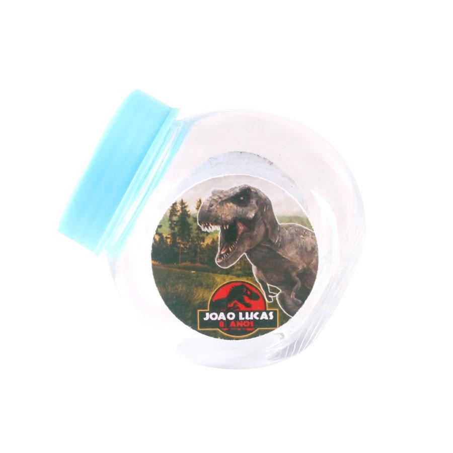 Lembrancinha Mini Baleiro Personalizado Dinossauros Jurassic World