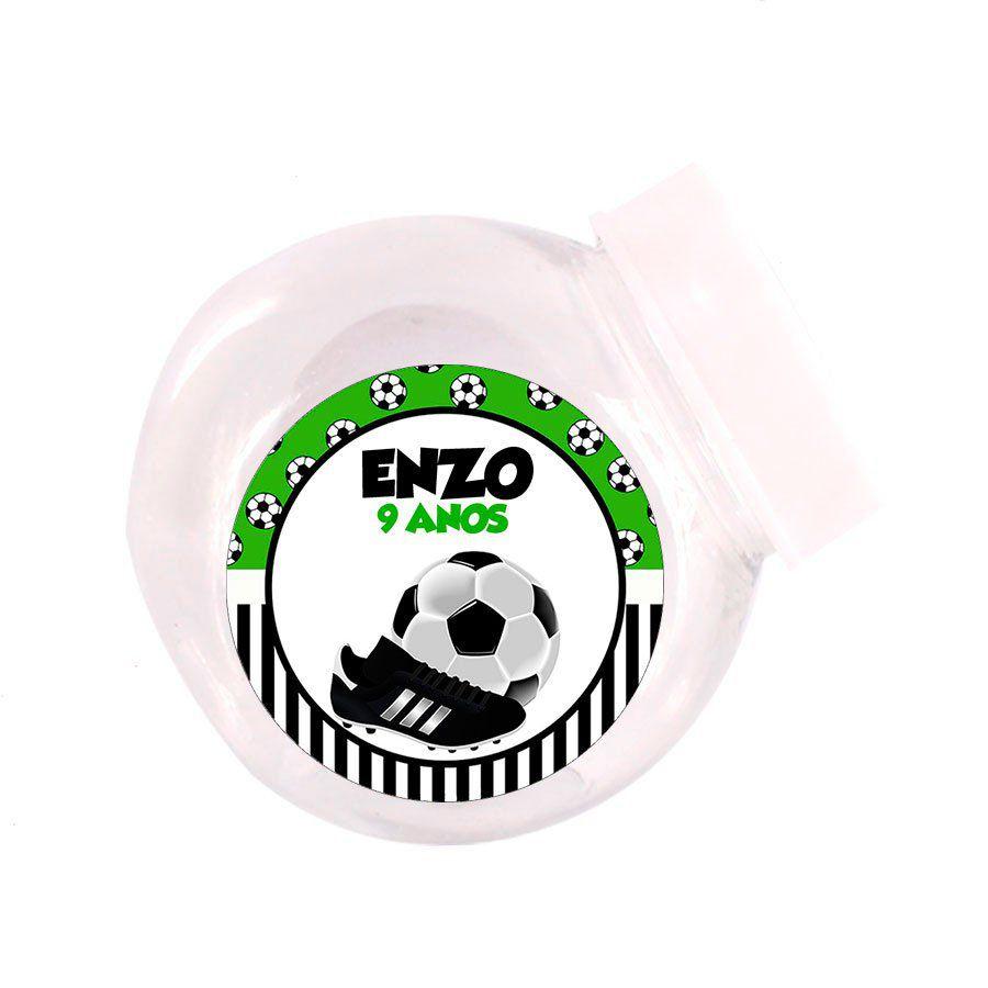 Lembrancinha Mini Baleiro Personalizado Futebol