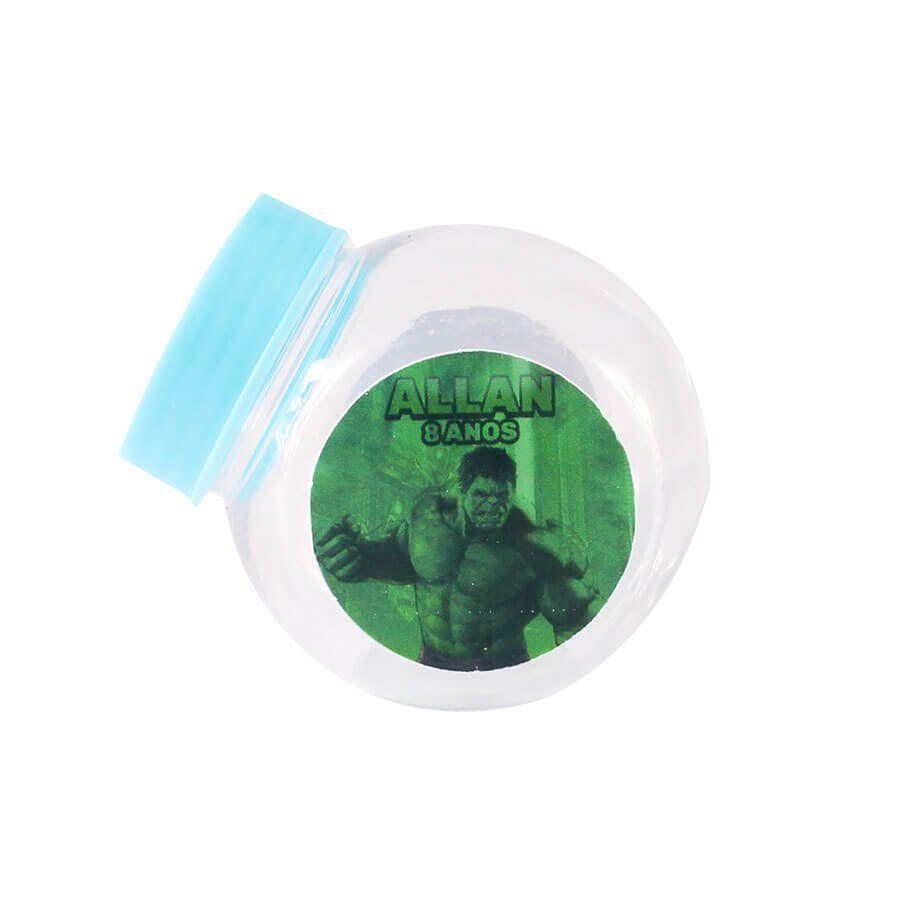 Lembrancinha Mini Baleiro Personalizado Incrível Hulk
