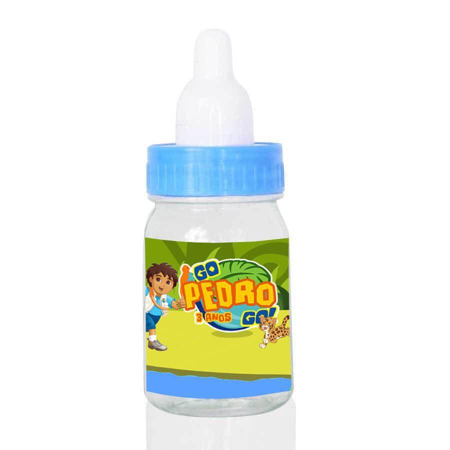 Lembrancinha Mini Mamadeira Personalizada Go Diego Go