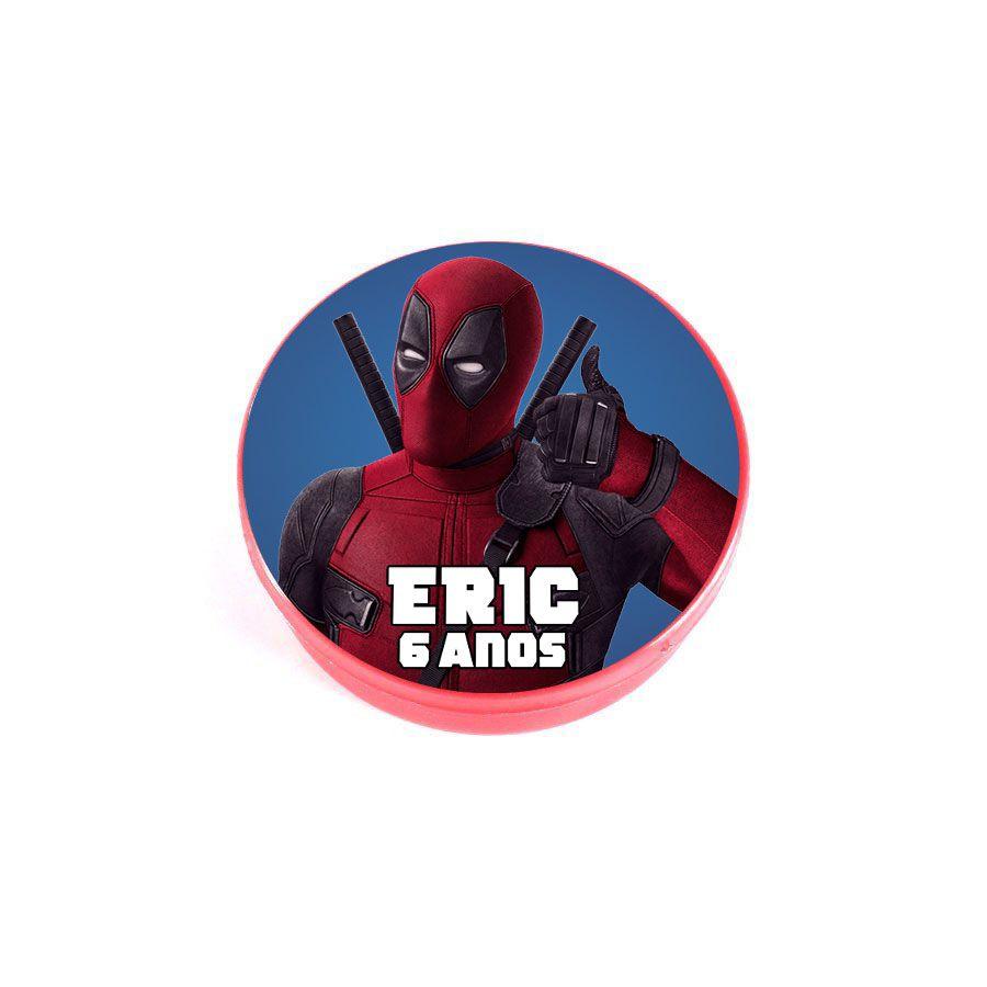 Lembrancinha Potinho Personalizado Deadpool