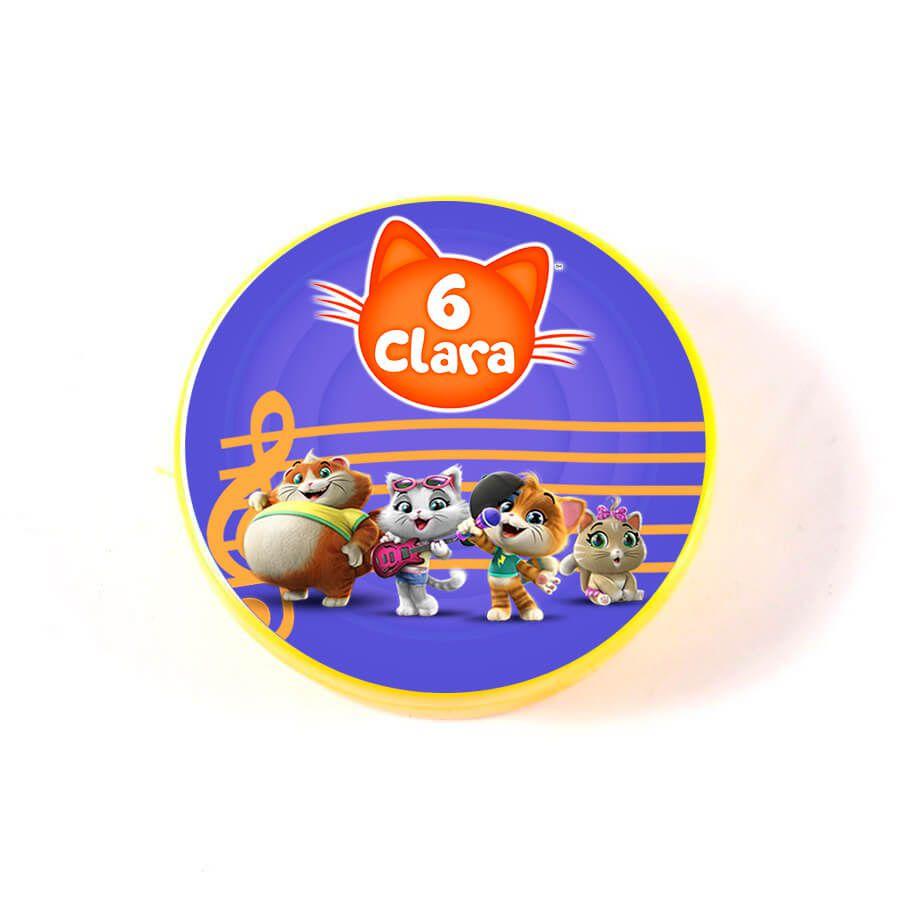 Lembrancinha Potinho Plástico Personalizado 44 Gatos