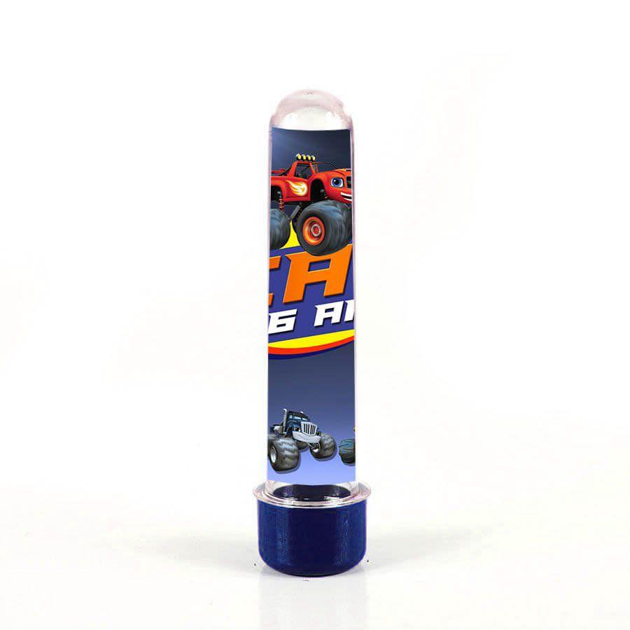 Lembrancinha Tubete Personalizado Blaze Monster Machine 13cm