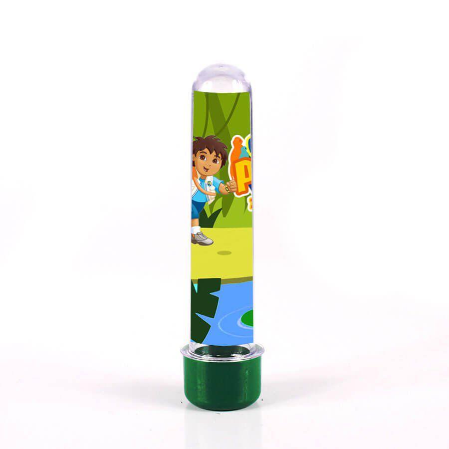 Lembrancinha Tubete Personalizado Go Diego Go 13cm