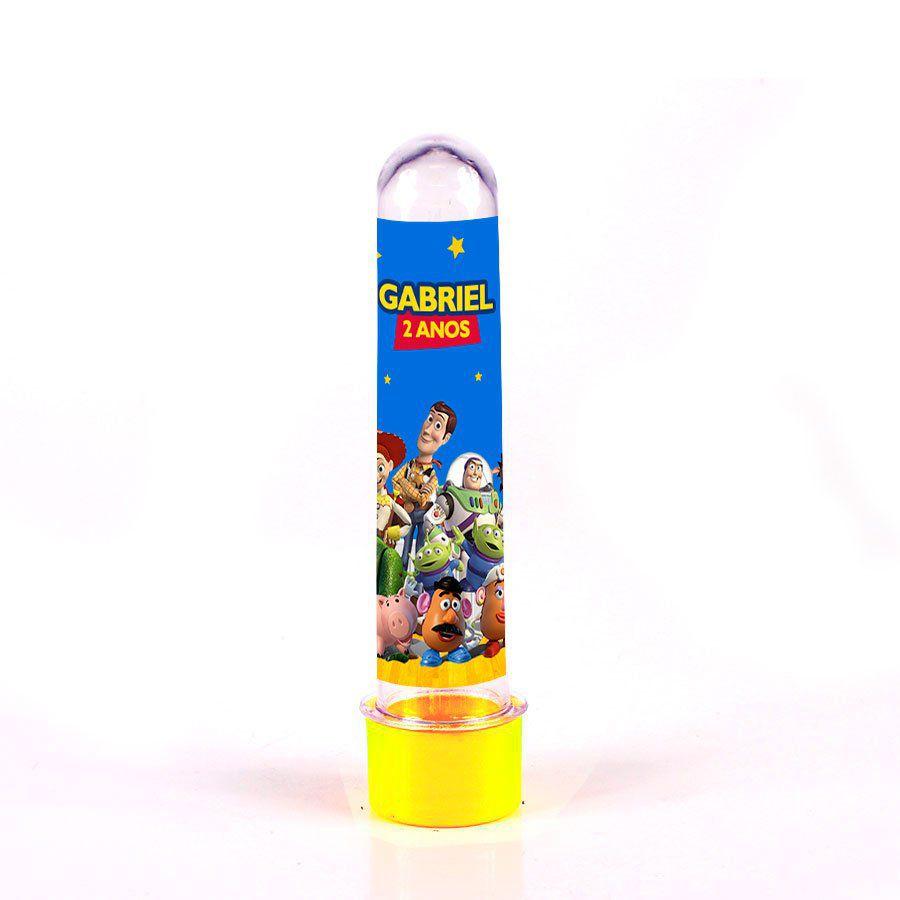 Lembrancinha Tubete Personalizado Toy Story 13cm