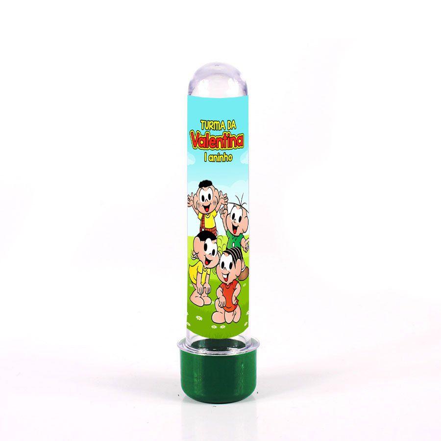Lembrancinha Tubete Personalizado Turma da Mônica 13cm