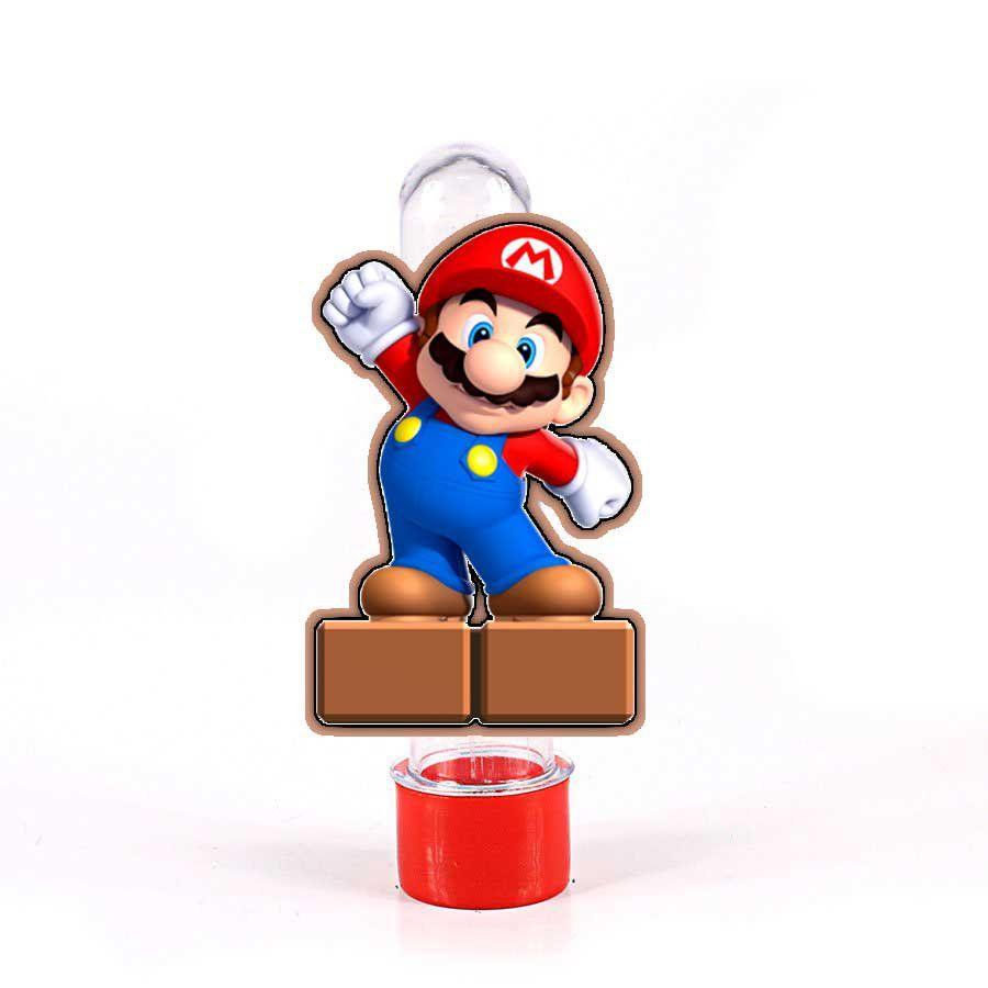 Lembrancinha Tubete 3D Game Super Mario Bros
