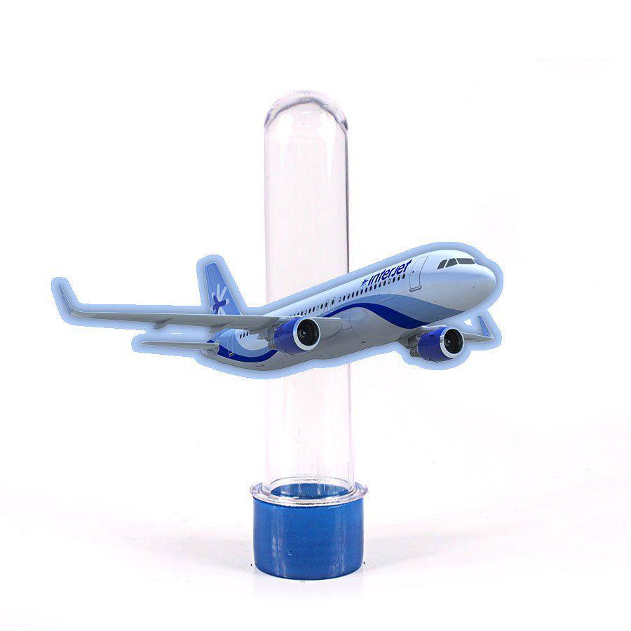 Lembrancinha Tubete Aviões Airbus A-330