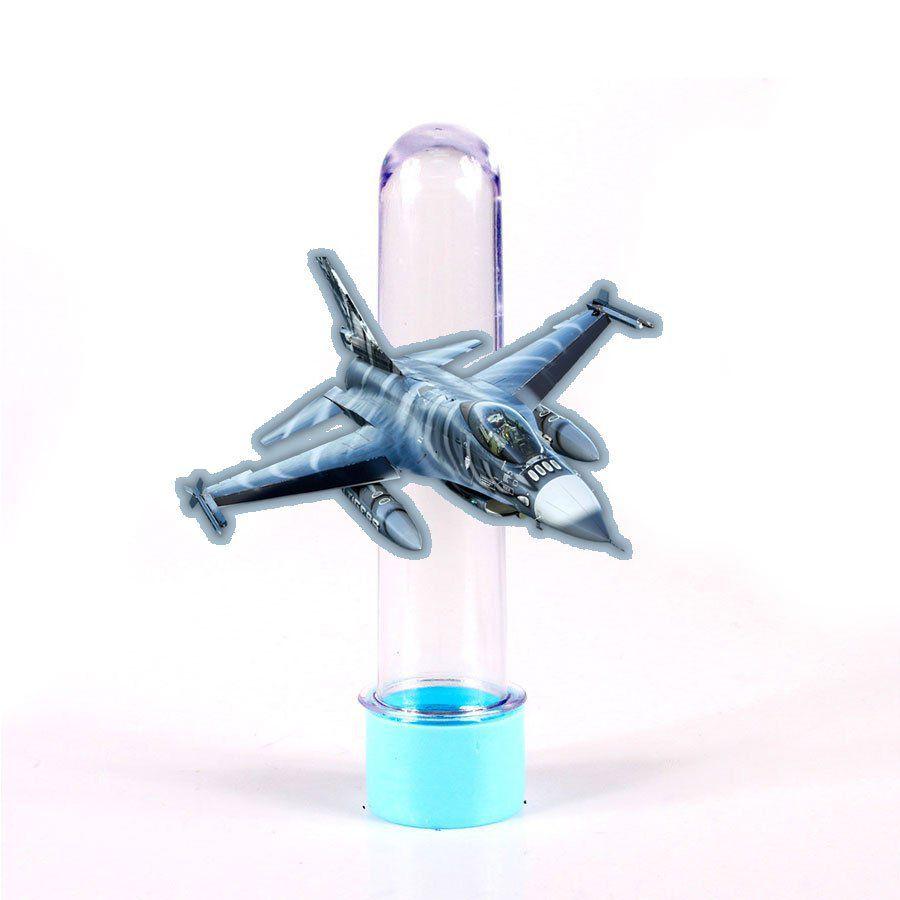 Lembrancinha Tubete Aviões de Guerra F-16