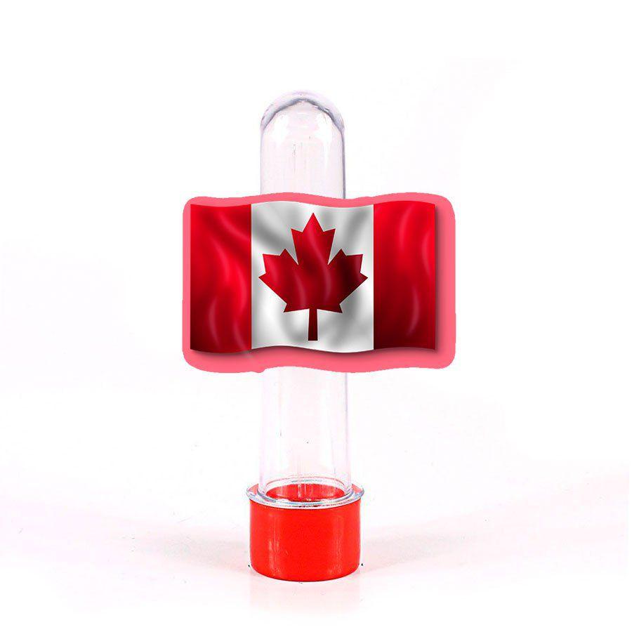 Lembrancinha Tubete Bandeira Canadá