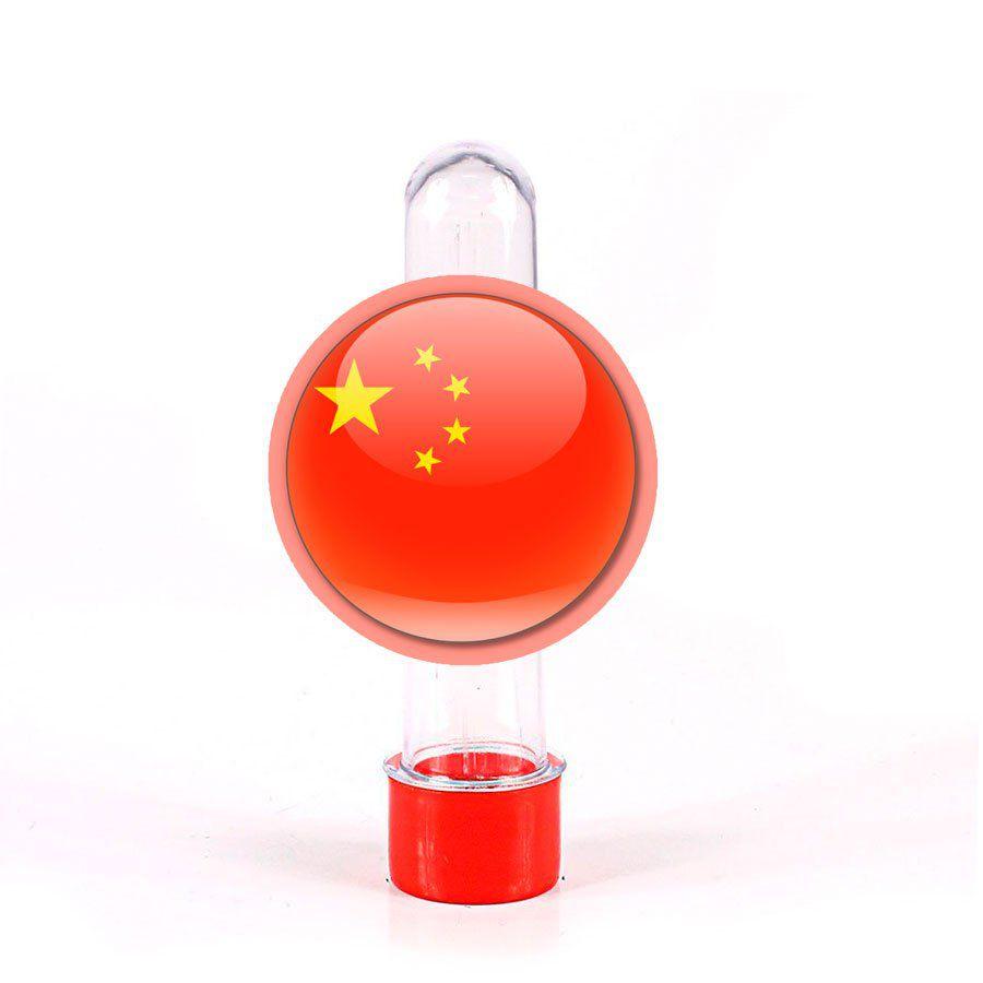 Lembrancinha Tubete Bandeira da China