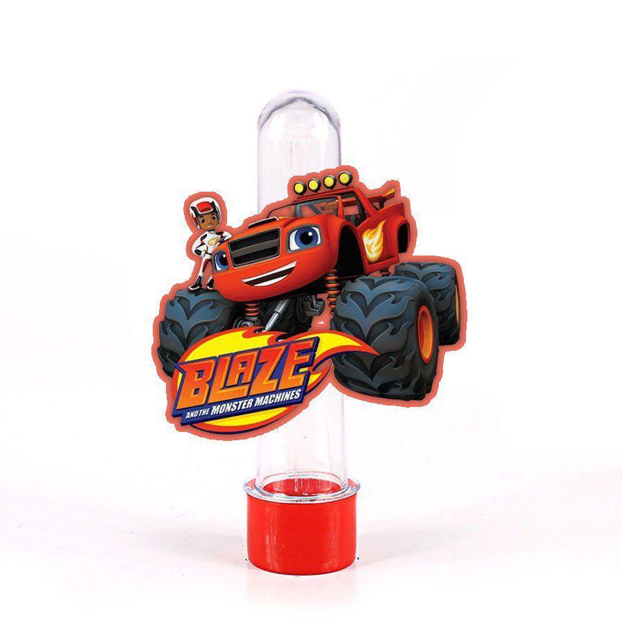 Lembrancinha Tubete Blaze Monster Machine Vermelho