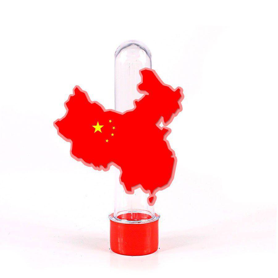 Lembrancinha Tubete China Mapa